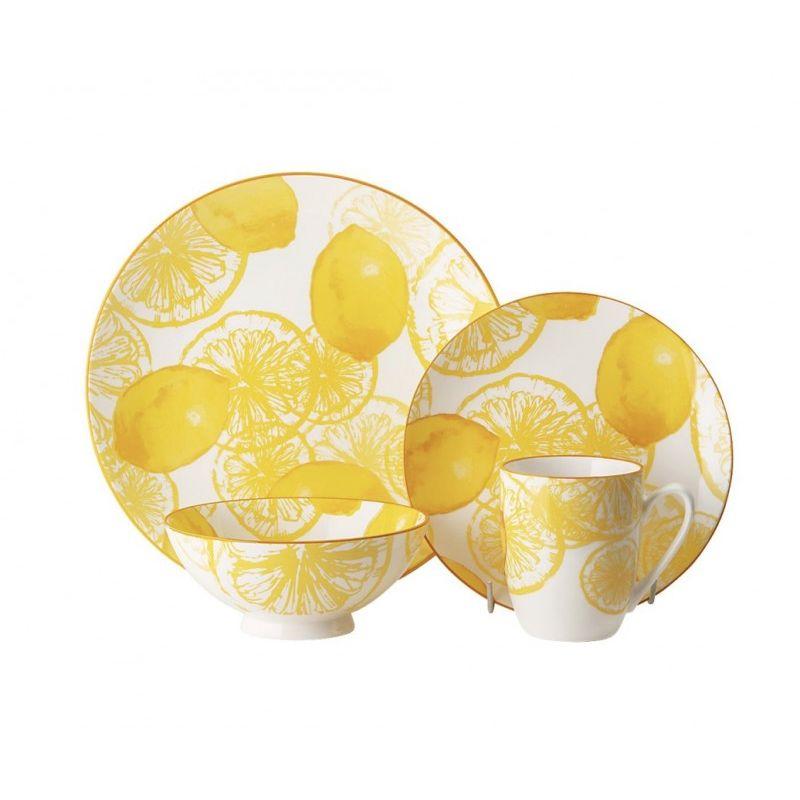 Лемон Фестиваль Чайно-столовый набор 16 пр. 4 персоны