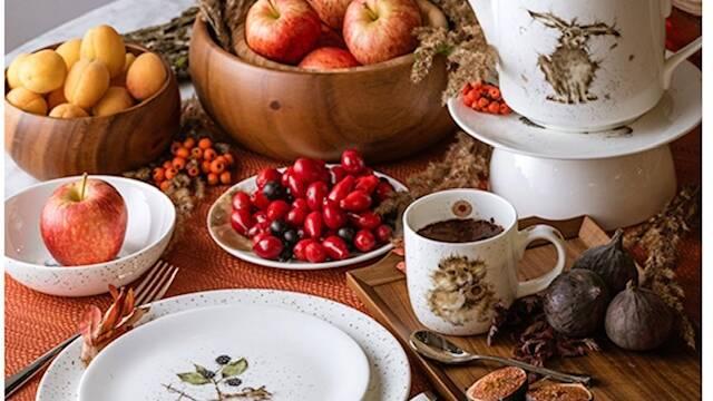 Royal Worcester «Забавная фауна» купить посуду в GLAVFISH