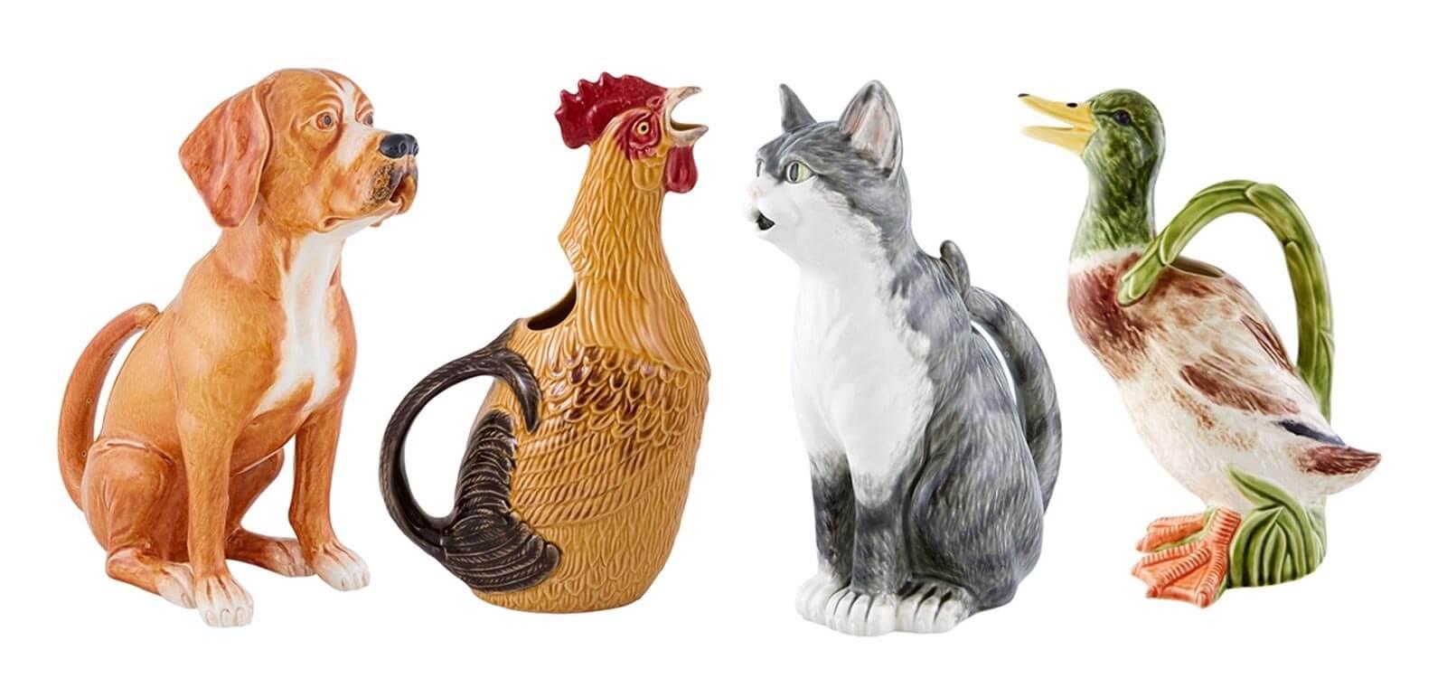 Коллекция Животные Bordallo Pinheiro - купить посуду в интернет-магазине Glavfish