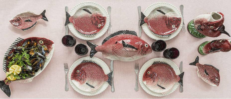 Посуда серии Рыбы от Bordallo Pinheiro можно заказать в интернет-магазине GLAVFISH