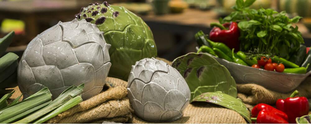 Посуда серии Артишок от Bordallo Pinheiro можно заказать в интернет-магазине GLAVFISH