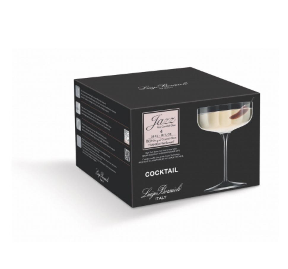 Бокал для коктейля Jazz 300 мл (набор 4 шт) C479