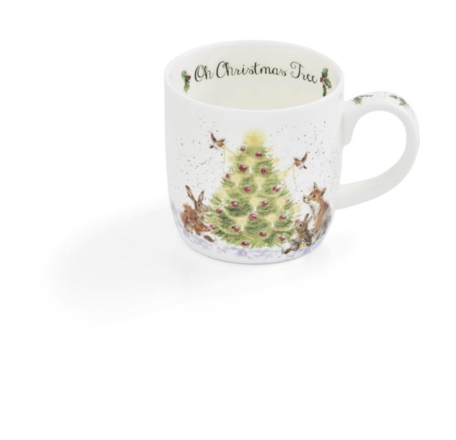"""Кружка Royal Worcester """"Забавная фауна. Рождественская ёлочка"""" 310 мл"""