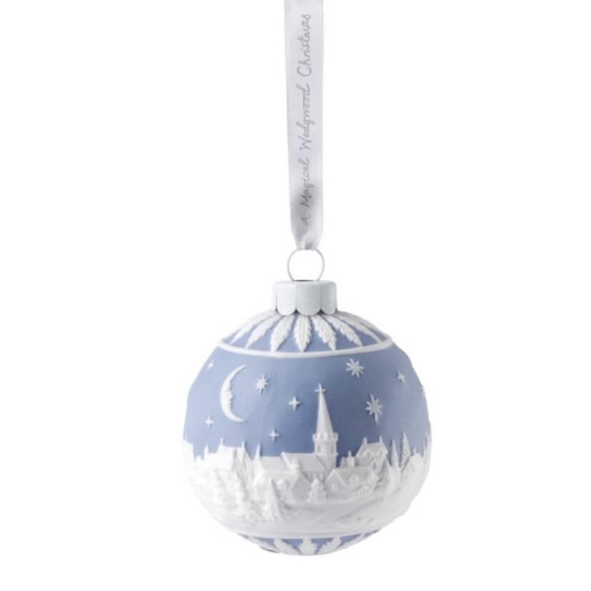 Украшение новогоднее - шар Wedgwood